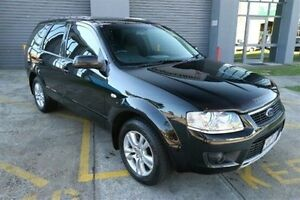 2009 Ford Territory SY TS Black 4 Speed Sports Automatic Wagon Heatherton Kingston Area Preview