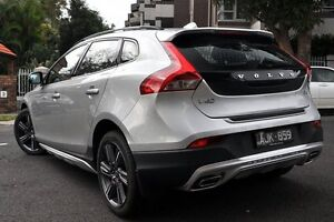2016 Volvo V40 M MY16 D4 Luxury Cross Country Silver 6 Speed Automatic Geartronic Hatchback Mosman Mosman Area Preview
