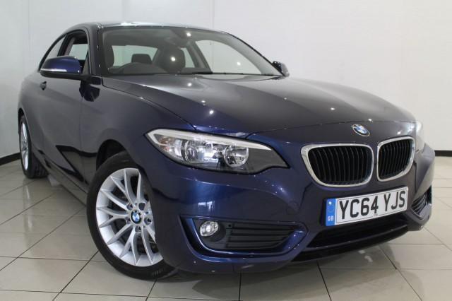 2014 64 BMW 2 SERIES 2.0 218D SE 2DR 141 BHP DIESEL