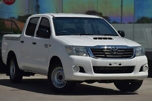 2012 Toyota Hilux KUN16R MY12 SR Glacier White 5 Speed Manual Dual Cab Pick-up Old Guildford Fairfield Area Preview