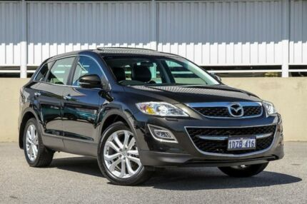 2012 Mazda CX-9 10 Upgrade Grand Touring Black 6 Speed Auto Activematic Wagon Cannington Canning Area Preview