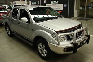 2012 Nissan Navara D40 S6 MY12 ST Silver 6 Speed Manual Utility Maryville Newcastle Area Preview
