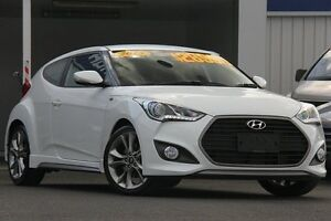 2015 Hyundai Veloster FS4 Series 2 SR Turbo Storm Trooper 7 Speed Auto Dual Clutch Coupe Wolli Creek Rockdale Area Preview