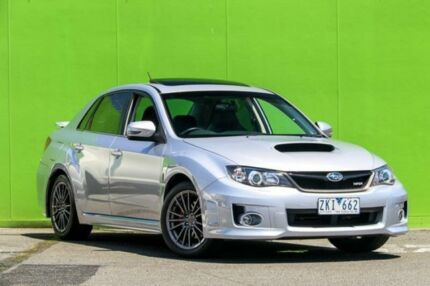 2012 Subaru Impreza G3 MY13 WRX AWD Silver 5 Speed Manual Sedan