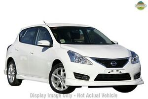 2013 Nissan Pulsar C12 SSS White 6 Speed Manual Hatchback Gymea Sutherland Area Preview