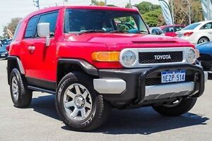 2016 Toyota FJ Cruiser GSJ15R MY14 Red 5 Speed Automatic Wagon Myaree Melville Area Preview