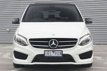 2015 Mercedes-Benz B200  White Sports Automatic Dual Clutch Hatchback Ringwood East Maroondah Area Preview