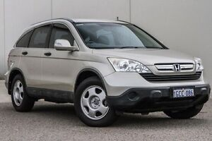 2007 Honda CR-V RE MY2007 4WD Gold 6 Speed Manual Wagon Bellevue Swan Area Preview