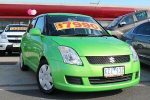 2010 Suzuki Swift RS415 Green 5 Speed Manual Hatchback Cheltenham Kingston Area Preview