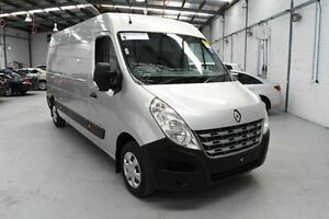 2012 Renault Master X62 Mid Roof LWB Quickshift Silver Seq Manual Auto-Clutch Van Moorabbin Kingston Area Preview