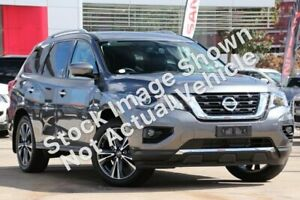 2018 Nissan Pathfinder R52 Series II MY17 Ti X-tronic 2WD Gun Metallic 1 Speed Constant Variable Liverpool Liverpool Area Preview