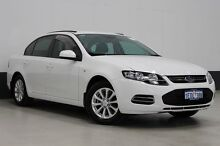2014 Ford Falcon FG MK2 XT (LPi) White 6 Speed Automatic Sedan Bentley Canning Area Preview