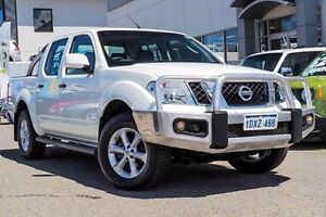 2012 Nissan Navara D40 S6 MY12 ST White 5 Speed Sports Automatic Utility Myaree Melville Area Preview