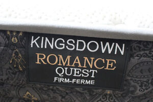 KINGSDOWN BED IN EXCELLENT CONDITION-Price negotiable.