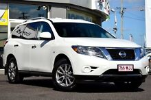 2014 Nissan Pathfinder R52 MY14 ST X-tronic 4WD White 1 Speed Constant Variable Wagon Moorooka Brisbane South West Preview