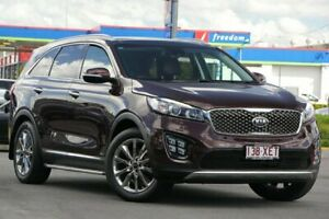 2016 Kia Sorento UM MY17 GT-Line AWD Red 6 Speed Sports Automatic Wagon Brendale Pine Rivers Area Preview