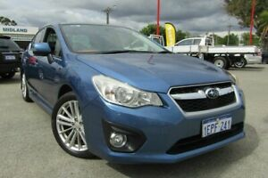 2014 Subaru Impreza G4 MY14 2.0i-S Lineartronic AWD Blue 6 Speed Constant Variable Sedan Bellevue Swan Area Preview