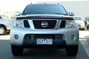 2012 Nissan Navara D40 S5 MY12 ST-X 550 Silver 7 Speed Sports Automatic Utility Ringwood East Maroondah Area Preview