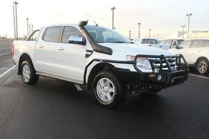 2013 Ford Ranger PX XLT Double Cab White 6 Speed Sports Automatic Utility Devonport Devonport Area Preview