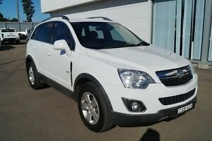 2011 Holden Captiva CG Series II 5 White 6 Speed Sports Automatic Wagon Cardiff Lake Macquarie Area Preview