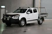 2013 Holden Colorado RG MY13 LX Crew Cab Summit White 6 Speed Sports Automatic Cab Chassis Acacia Ridge Brisbane South West Preview
