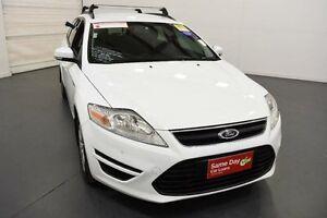 2012 Ford Mondeo MC LX Tdci White 6 Speed Direct Shift Wagon Moorabbin Kingston Area Preview