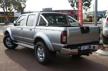 2006 Nissan Navara D22 S2 ST-R Silver 5 Speed Manual Utility Cannington Canning Area Preview