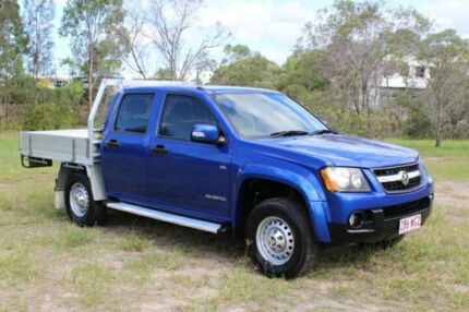 2009 Holden Colorado RC MY09 LX Crew Cab Blue 4 Speed Automatic Utility