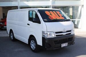 2013 Toyota Hiace TRH201R MY12 LWB White 5 Speed Manual Van Mount Gravatt Brisbane South East Preview