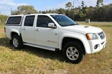 2009 Holden Colorado RC MY09 LT-R Crew Cab White 5 Speed Manual Utility Ormeau Gold Coast North Preview
