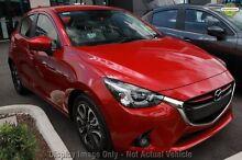 2016 Mazda 2 DJ MY16 Genki Metropolitan Grey 6 Speed Automatic Hatchback Gymea Sutherland Area Preview
