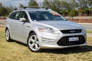 2011 Ford Mondeo MC Titanium PwrShift TDCi Silver 6 Speed Sports Automatic Dual Clutch Wagon Mindarie Wanneroo Area Preview