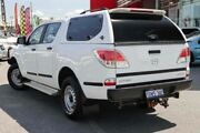 2012 Mazda BT-50 XT (4x4) White 6 Speed Automatic Dual Cab Utility Wangara Wanneroo Area Preview