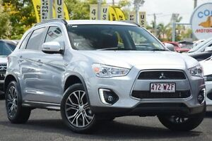 2016 Mitsubishi ASX XB MY15.5 LS 2WD Cool Silver 6 Speed Constant Variable Wagon Moorooka Brisbane South West Preview