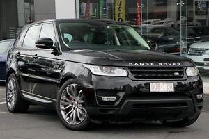 2014 Land Rover Range Rover Sport L494 MY14.5 SDV8 CommandShift HSE Dynamic Santorini Black 8 Speed Buderim Maroochydore Area Preview