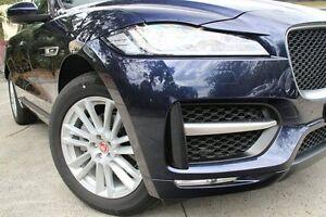 2016 Jaguar F-Pace 20d R-Sport 20D R-Sport Blue 8 Speed Automatic Wagon Petersham Marrickville Area Preview