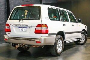 2007 Toyota Landcruiser UZJ100R GXL White 5 Speed Automatic Wagon Northbridge Perth City Area Preview