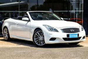 2013 Infiniti Q60 V36 S Premium White 7 Speed Sports Automatic Convertible Parramatta Parramatta Area Preview