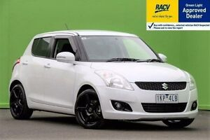 2013 Suzuki Swift 1.5 GLX AUTOMATIC White Automatic Hatchback Ringwood East Maroondah Area Preview