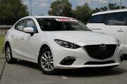 2013 Mazda 3 BM5278 Neo SKYACTIV-Drive White 6 Speed Sports Automatic Sedan Springwood Logan Area Preview