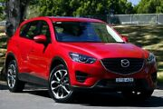 2017 Mazda CX-5 KF4W2A GT SKYACTIV-Drive i-ACTIV AWD Red 6 Speed Sports Automatic Wagon West Gosford Gosford Area Preview