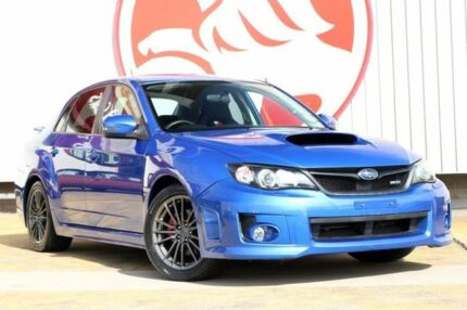 2011 Subaru Impreza G3 MY12 WRX AWD Blue 5 Speed Manual Sedan