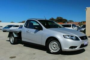 2010 Ford Falcon FG Super Cab Silver 4 Speed Sports Automatic Cab Chassis Craigieburn Hume Area Preview