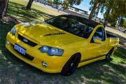 2005 Ford Falcon BA MkII XR8 Yellow 6 Speed Manual Utility Rockingham Rockingham Area Preview