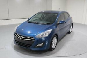 2014 Hyundai i30 GD2 MY14 SE Blue 6 Speed Sports Automatic Hatchback Invermay Launceston Area Preview