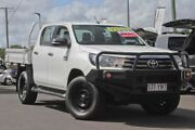 2016 Toyota Hilux GUN126R SR Double Cab White 6 Speed Sports Automatic Utility Monkland Gympie Area Preview