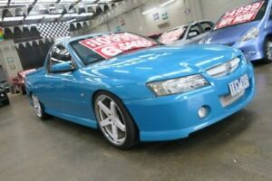 2005 Holden Commodore VZ Storm 6 Speed Manual Utility Mordialloc Kingston Area Preview
