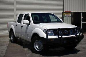 2012 Nissan Navara D40 S6 MY12 RX White 5 Speed Automatic Utility Seaford Frankston Area Preview