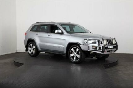 2014 Jeep Grand Cherokee WK MY14 Laredo (4x4) Silver 8 Speed Automatic Wagon