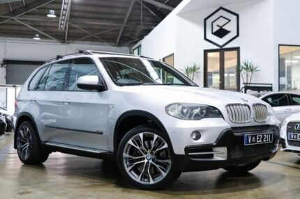 2009 BMW X5 E70 MY09 xDrive35d Steptronic Silver 6 Speed Sports Automatic Wagon Port Melbourne Port Phillip Preview